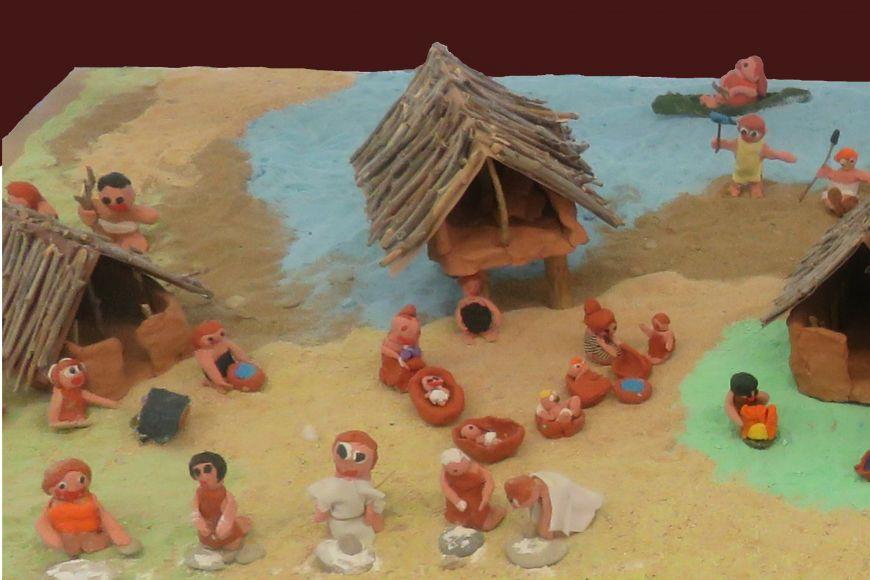 Exposició de l'escola de Can Puig - Com era la vida dels prehistòrics del Pla de l'Estany?