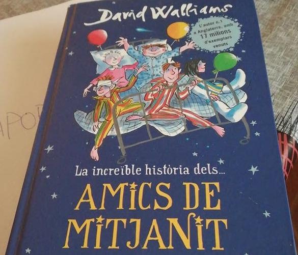 Club de lectura: La increïble història dels...Amics de mitjanit, de David Walliams