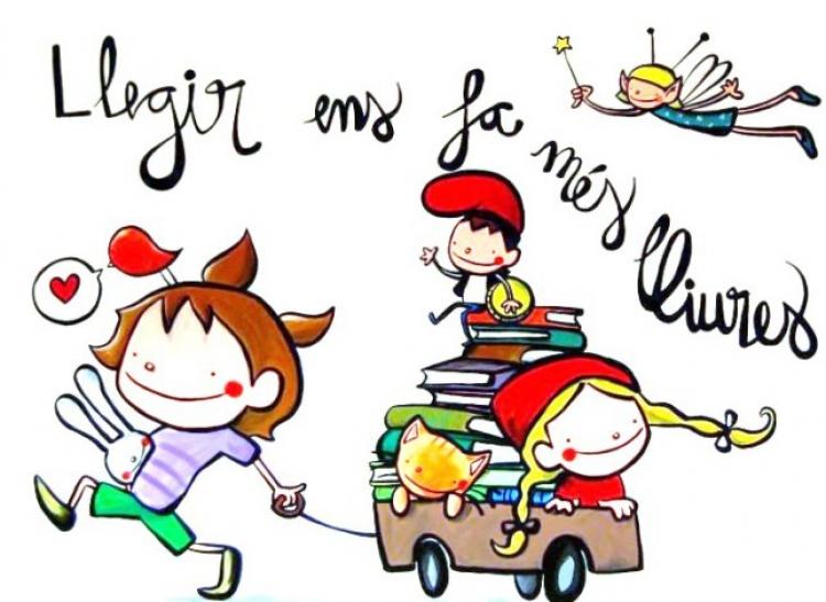 """Lectura infantil: Gaudeix llegint """" Escola la Draga 1r"""""""