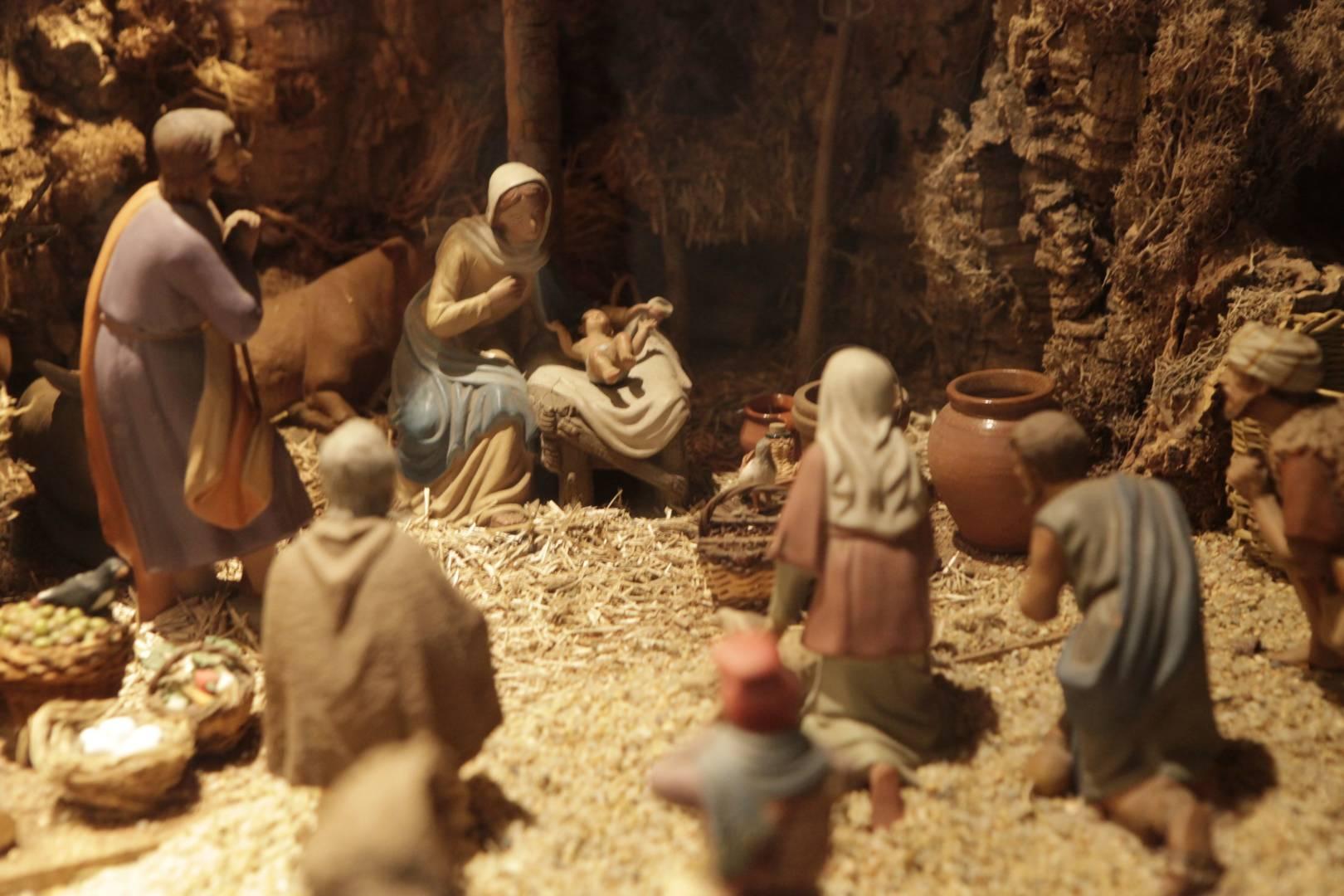 Mostra de pessebres i ornaments al fogar rural d'Esponellà
