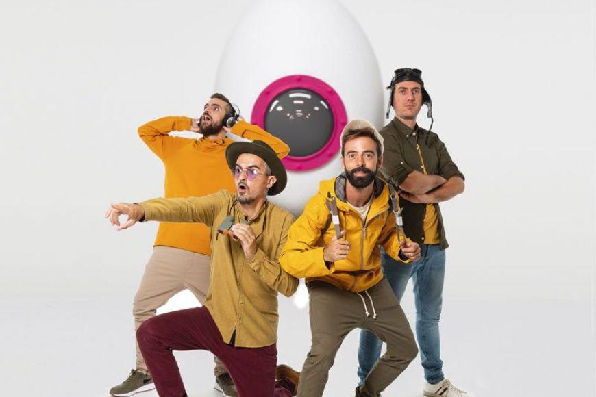 "Activitat familiar: ""Xiula"" -  Presenta l'espectacle ""Dintríssim"