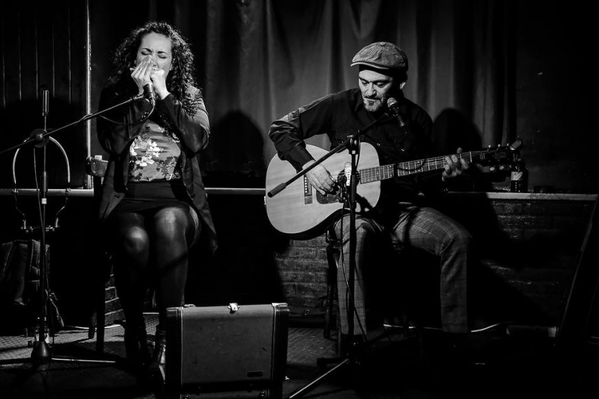 "Música: Sweet Marta  i Johnny Bigstone ""Blues"""