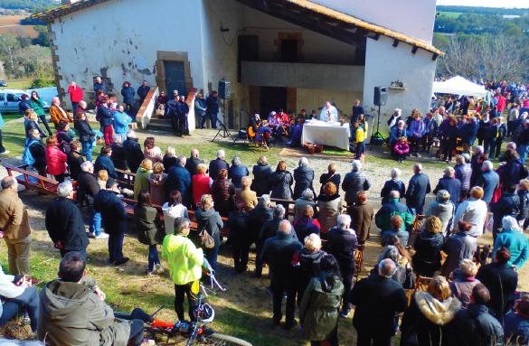 Caminada: Anada a peu a l'aplec de Sant Mer 2020