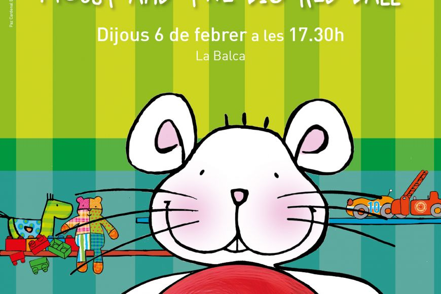 Biblionadons: Mousy and the big red ball
