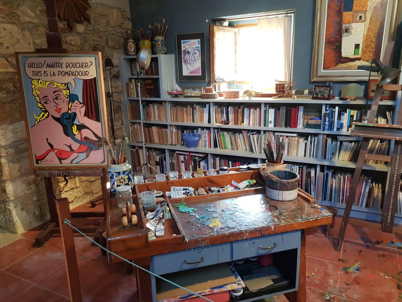 Visita guiada a l'estudi taller de Carles Fontserè