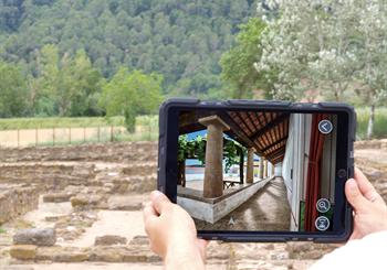 Visita guiada: Vilauba en 3D. Entrem a la Vil·la Romana