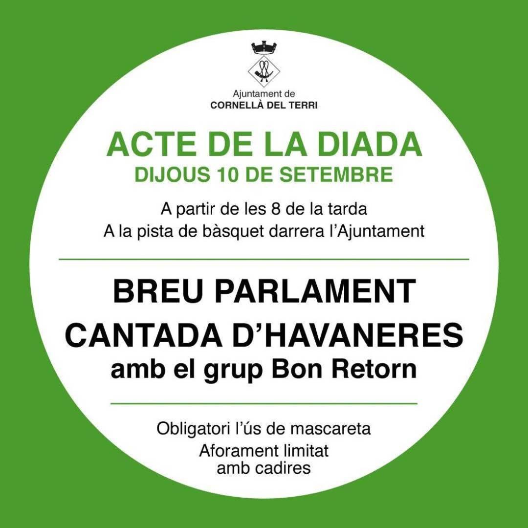 Diada Nacional de Catalunya a Cornellà del Terri