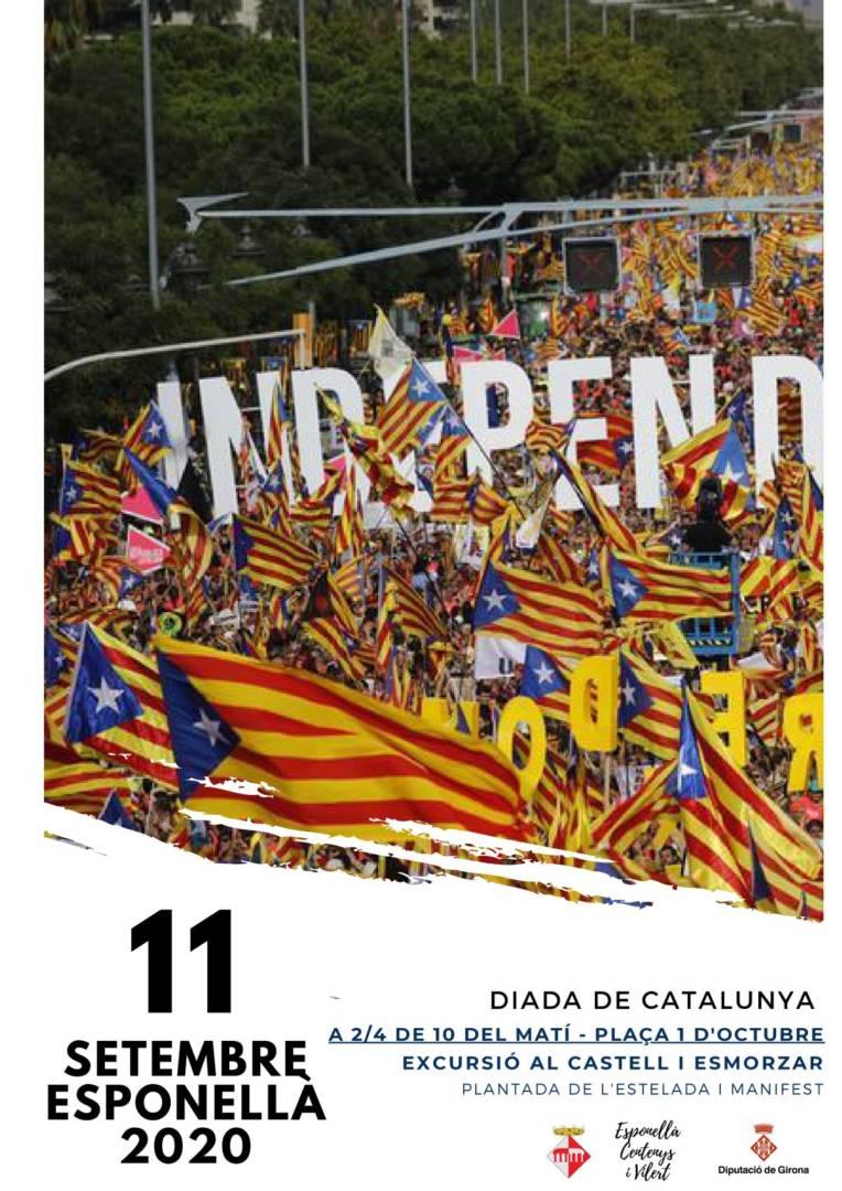 Diada Nacional de Catalunya a Esponellà
