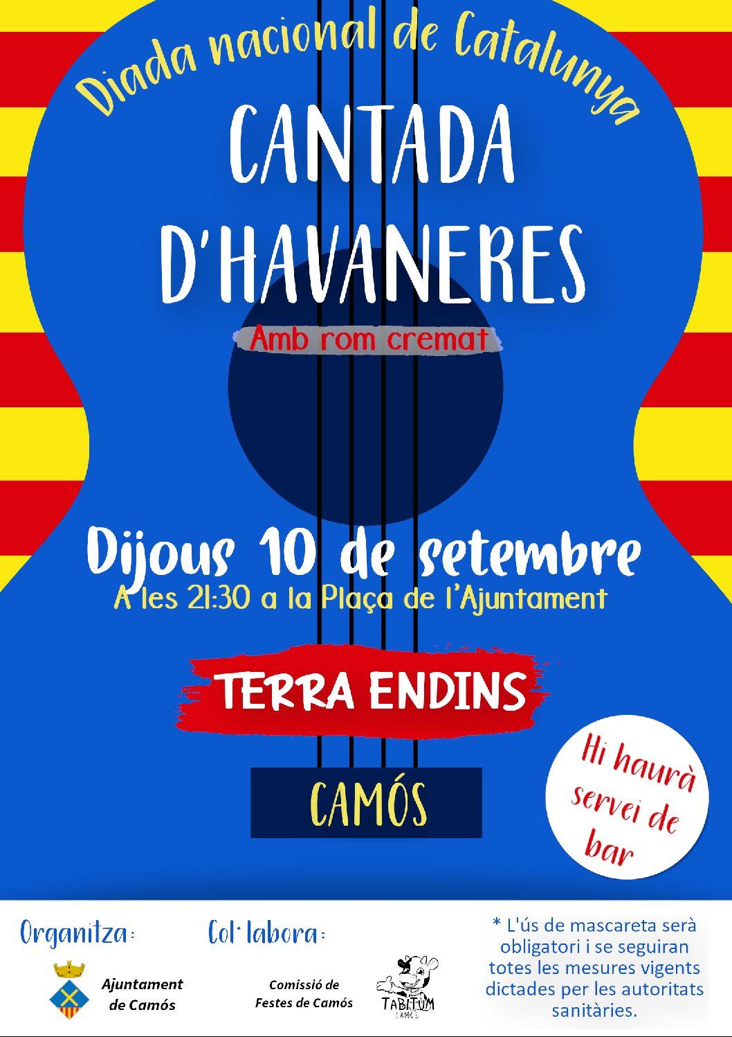 Diada Nacional de Catalunya a Camós