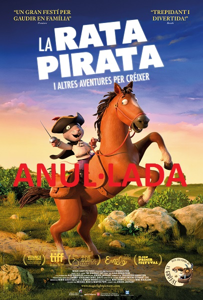 "Bibliocinema: ""La rata pirata"""