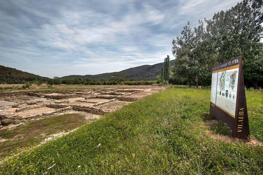 Visita guiada a la vil·la romana de Vilauba