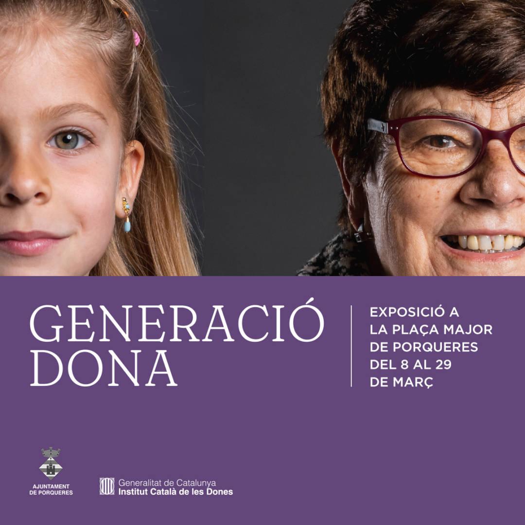 """""""Generació dona"""", exposició fotogràfica"""