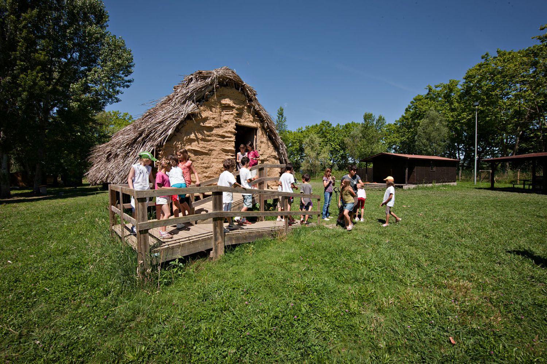 Visita al Parc Neolític de la Draga