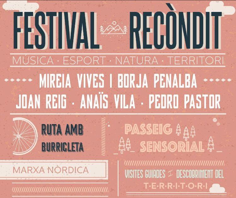 Festival Recòndit a Camós