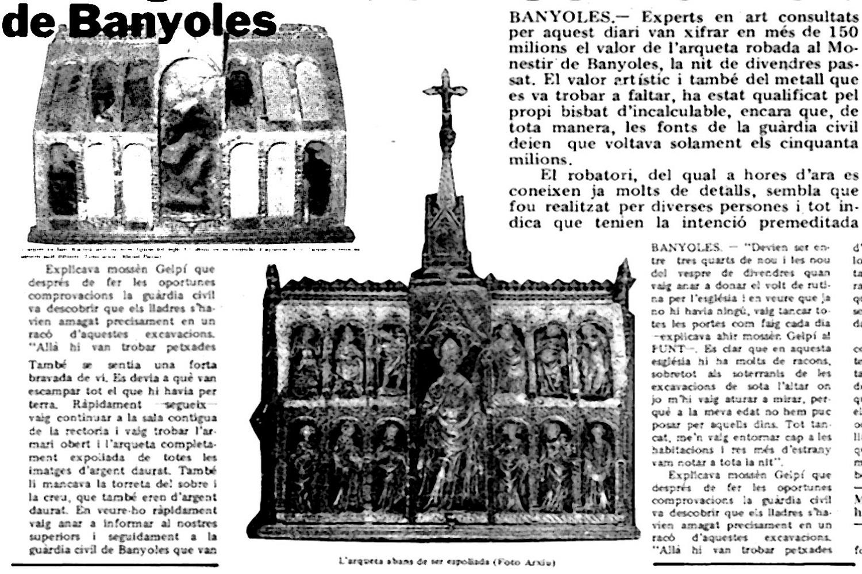 Visita guiada: Robatori sacríleg al Monestir de Banyoles