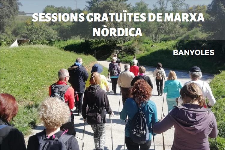 Marxa nòrdica a Banyoles