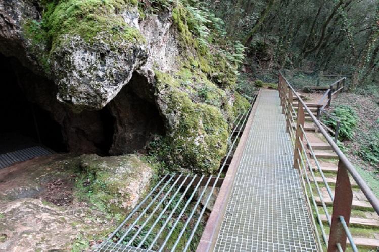Visites guiades al Parc de les Coves Prehistòriques de Serinyà