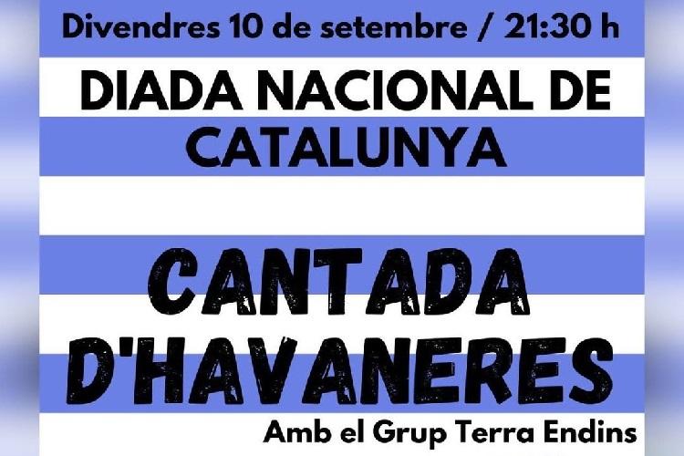 Diada de Catalunya a Camós