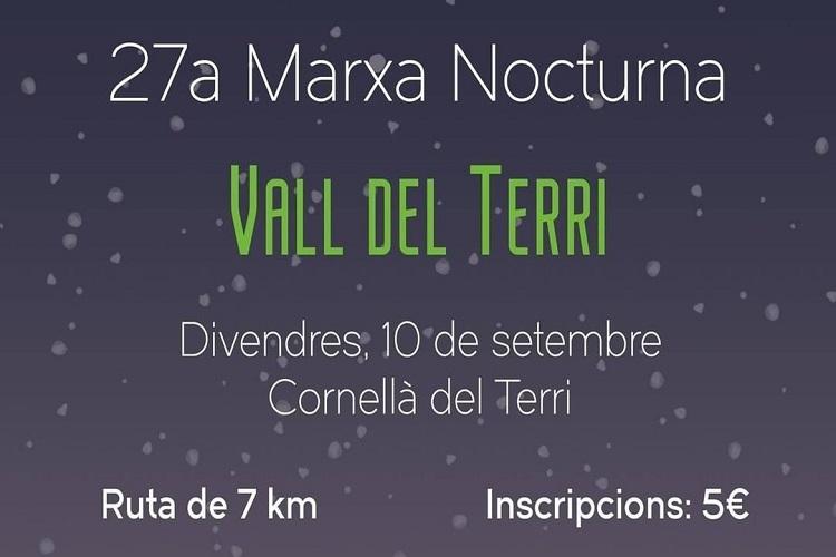 27ª Marxa Nocturna Vall del Terri